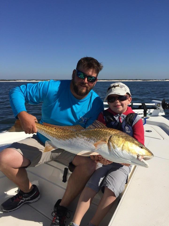 Fishing charter report redfish university for Tides for fishing pensacola